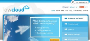 LawCloud Website Screenshot